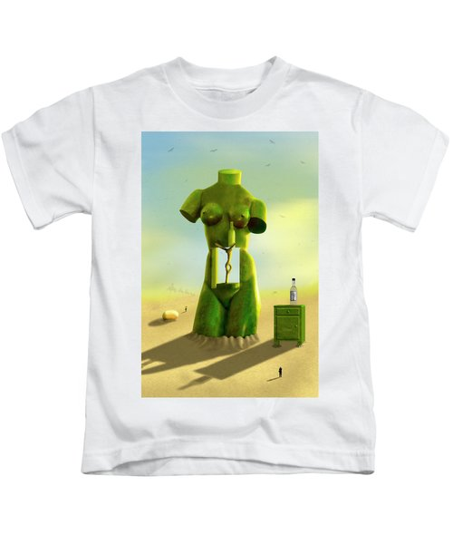 The Nightstand 2 Kids T-Shirt by Mike McGlothlen
