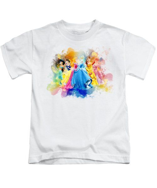The Princess Kids T-Shirt by Rinaldo Ananta