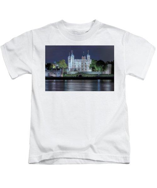 Tower Of London Kids T-Shirt by Joana Kruse