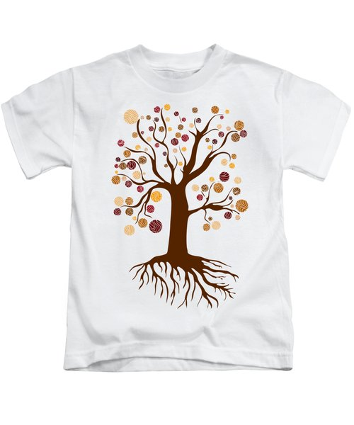 Tree Kids T-Shirt by Frank Tschakert
