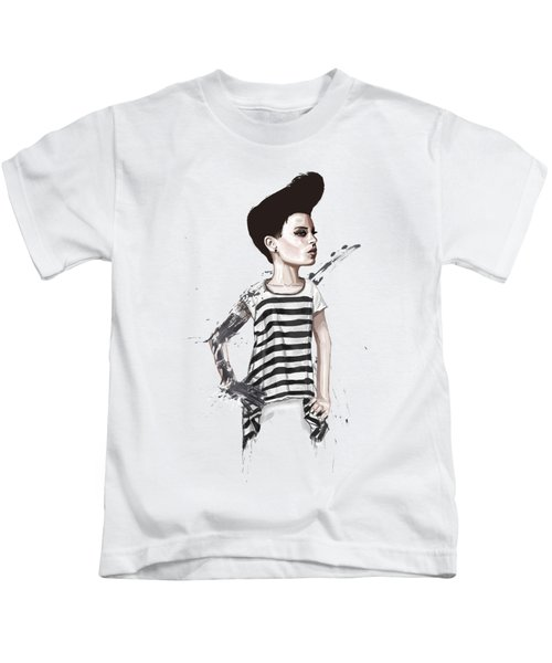 untitled II Kids T-Shirt by Balazs Solti