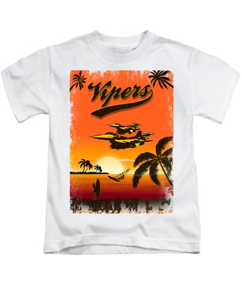 Vipers  F16 Kids T-Shirt by Clear II land Net