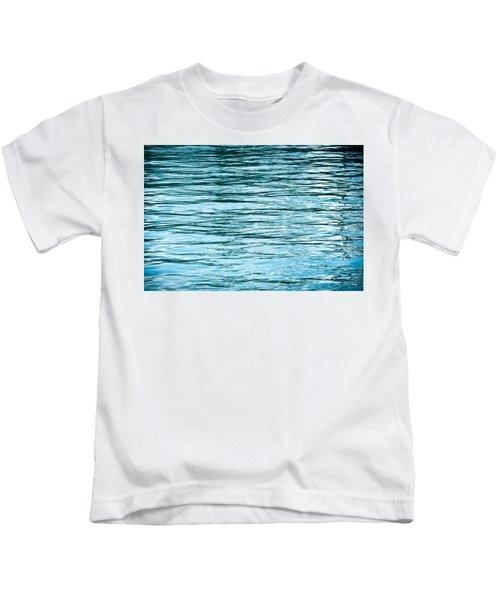 Water Flow Kids T-Shirt by Steve Gadomski