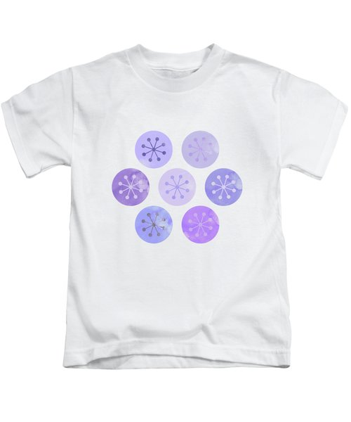 Watercolor Lovely Pattern II Kids T-Shirt by Amir Faysal
