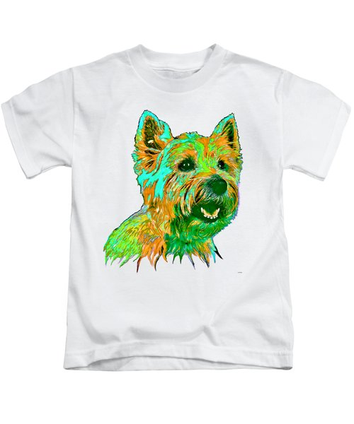 West Highland Terrier Kids T-Shirt by Marlene Watson