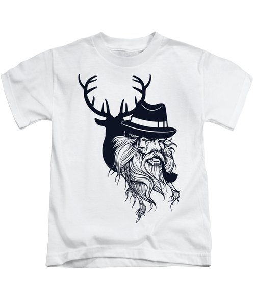 Wise Wild Kids T-Shirt by Argd