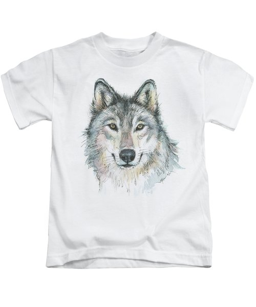 Wolf Kids T-Shirt by Olga Shvartsur
