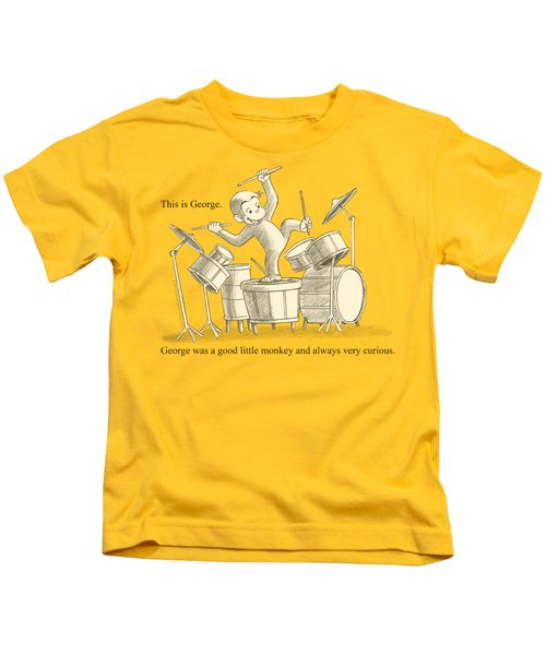 Curious George - This Is George Kids T-Shirt by Brand A