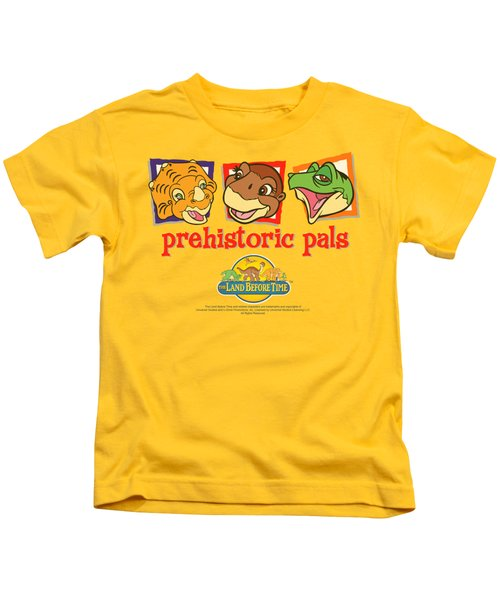 Land Before Time - Prehistoric Pals Kids T-Shirt by Brand A