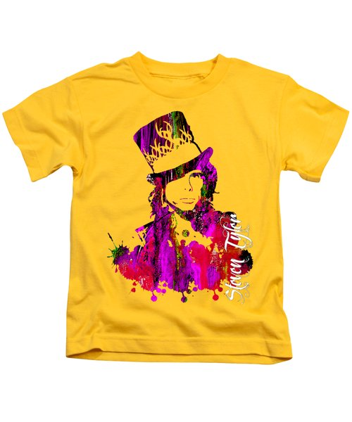 Steven Tyler Collection Kids T-Shirt by Marvin Blaine