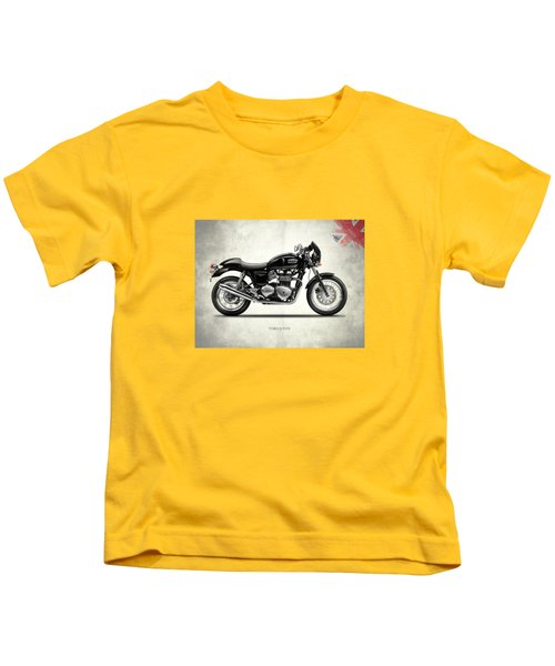 Triumph Thruxton Kids T-Shirt by Mark Rogan