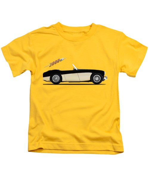 Austin Healey 3000 Kids T-Shirt by Mark Rogan