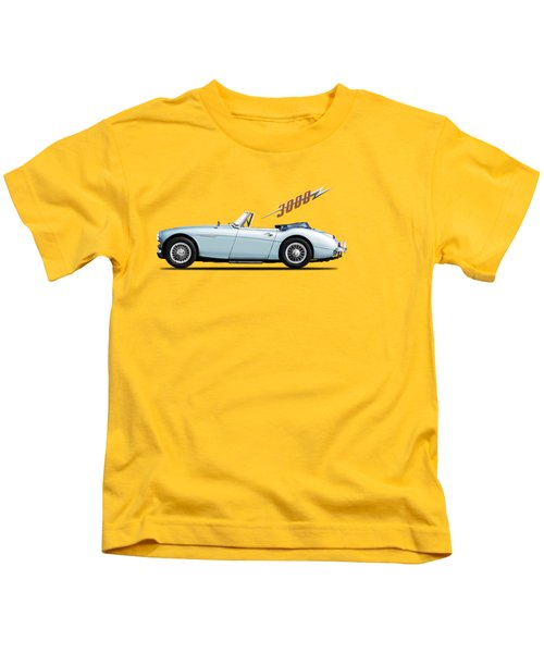 Austin Healey 3000 Mk3 Kids T-Shirt by Mark Rogan