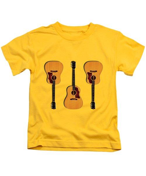 Gibson J-50 1967 Kids T-Shirt by Mark Rogan
