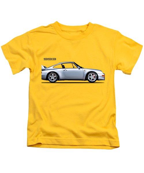 Porsche 993 Kids T-Shirt by Mark Rogan