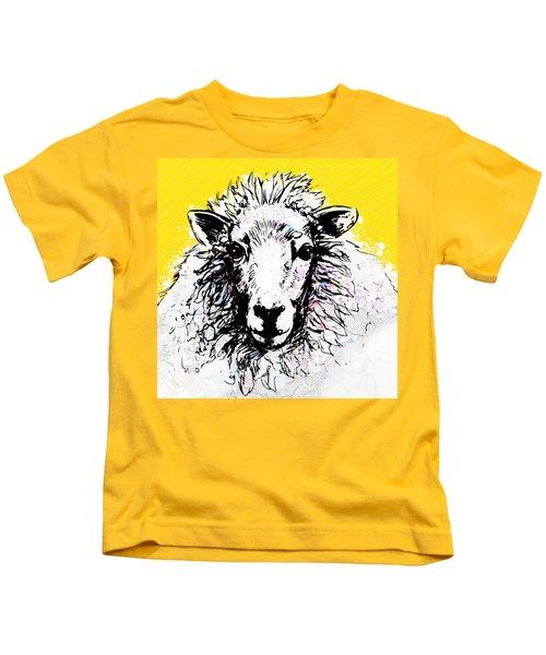Sheep Kids T-Shirt by Tiffany Hunter