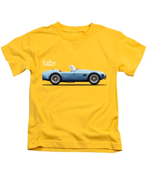 Shelby Cobra 289 1964 Kids T-Shirt by Mark Rogan