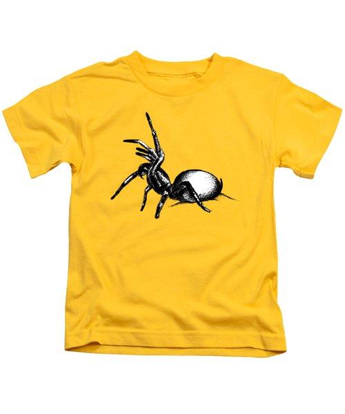 Sydney Funnel Web Kids T-Shirt by Nicholas Ely