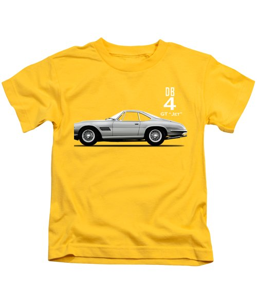 The Db4gt Jet Kids T-Shirt by Mark Rogan