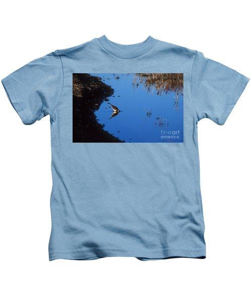 Killdeer Kids T-Shirt by Steven Ralser