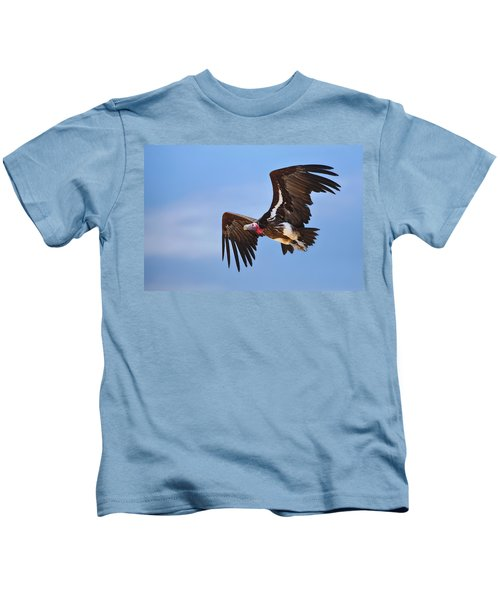 Lappetfaced Vulture Kids T-Shirt by Johan Swanepoel