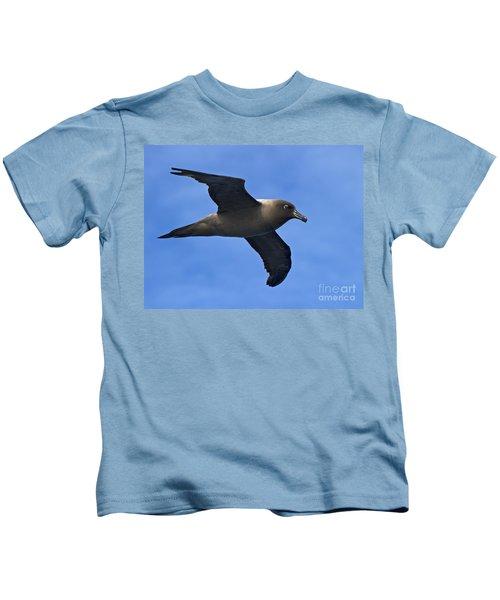 Pelagic Seabird... Kids T-Shirt by Nina Stavlund