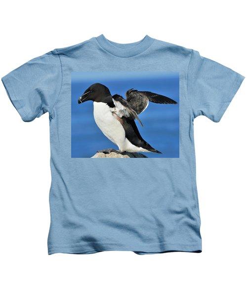 Razorbill Kids T-Shirt by Tony Beck