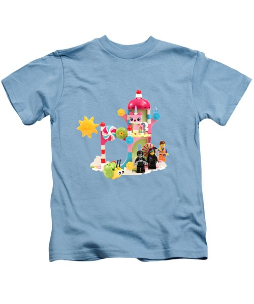 Cloud Cuckoo Land Kids T-Shirt by Snappy Brick Photos