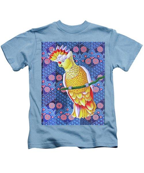 Cockatoo Kids T-Shirt by Jane Tattersfield