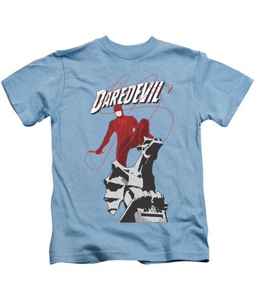Daredevil Kids T-Shirt by Troy Arthur Graphics
