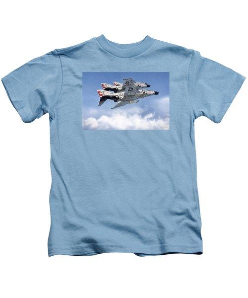 Diamonback Echelon Kids T-Shirt by Peter Chilelli
