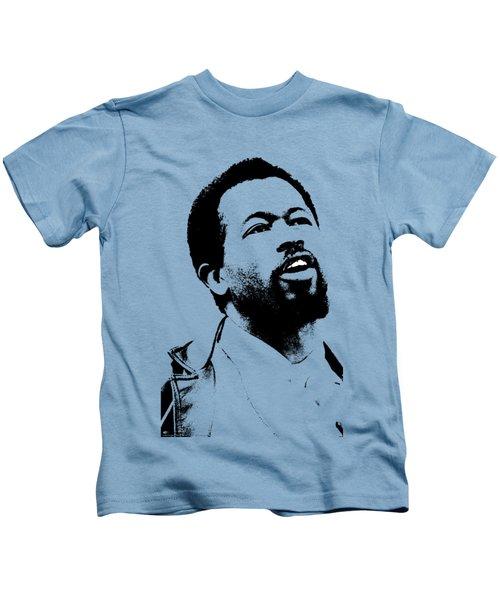 Eldridge Cleaver Kids T-Shirt by Otis Porritt
