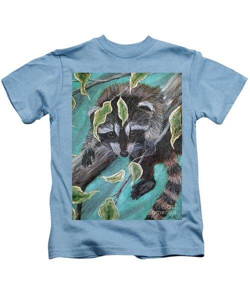 Hanging Around Kids T-Shirt by Nick Gustafson