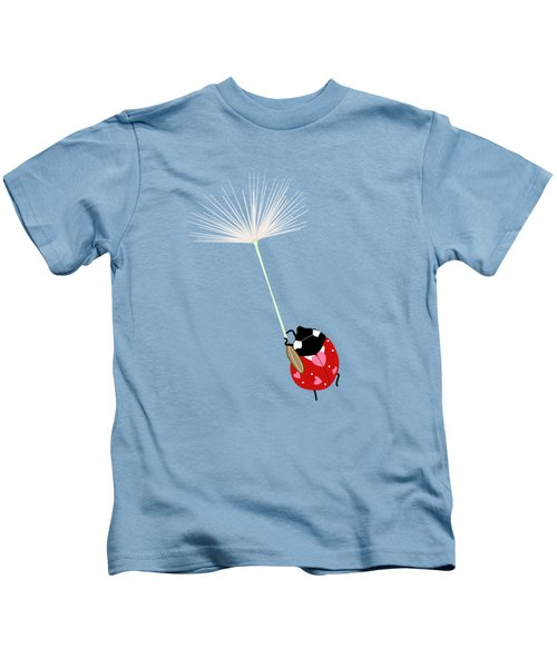 Hold On Kids T-Shirt by Brigitte Carre
