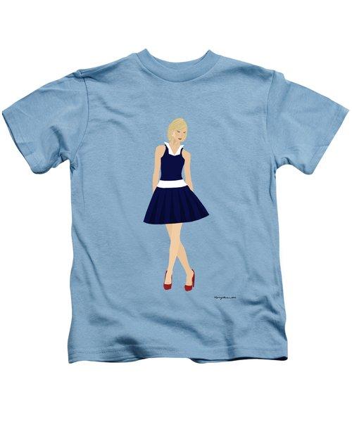 Morgan Kids T-Shirt by Nancy Levan