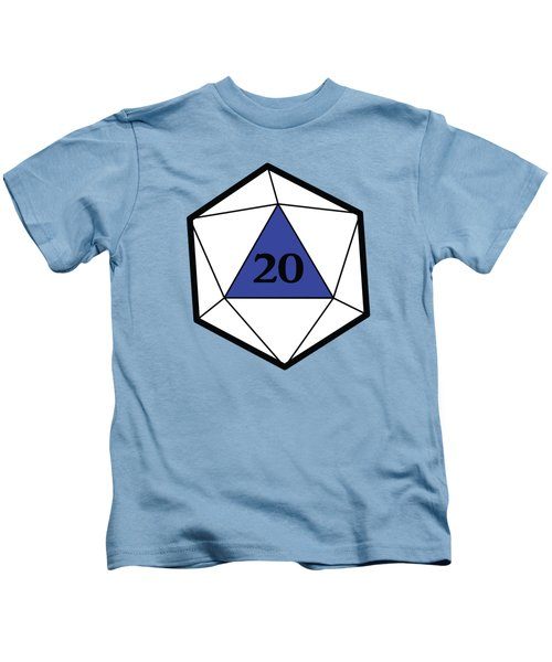 Natural 20 Kids T-Shirt by Carlo Manara