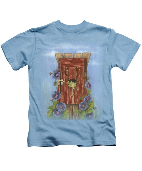 Nature Calls Kids T-Shirt by Julie Senf