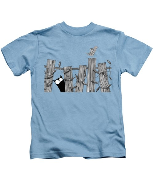 Paper Bird Kids T-Shirt by Andrew Hitchen