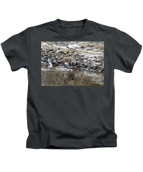 Mirror Mirror Kids T-Shirt by Mike Dawson