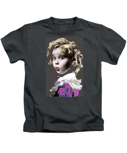 Shirley Temple Publicity Photo Circa 1935-2014 Kids T-Shirt by David Lee Guss