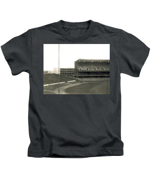 1923 Yankee Stadium Kids T-Shirt by Underwood Archives
