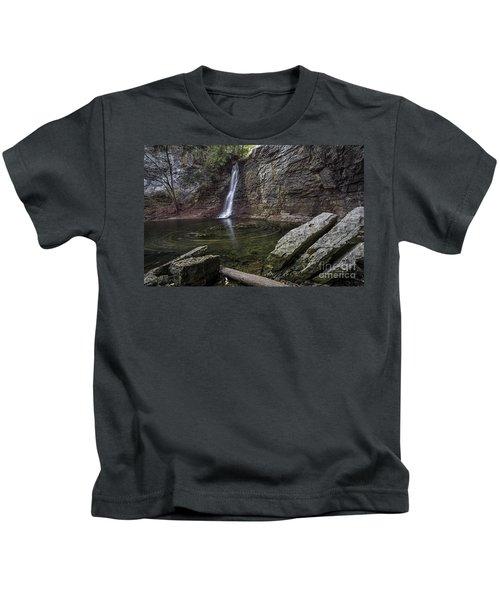 Autumn Swirls Kids T-Shirt by James Dean