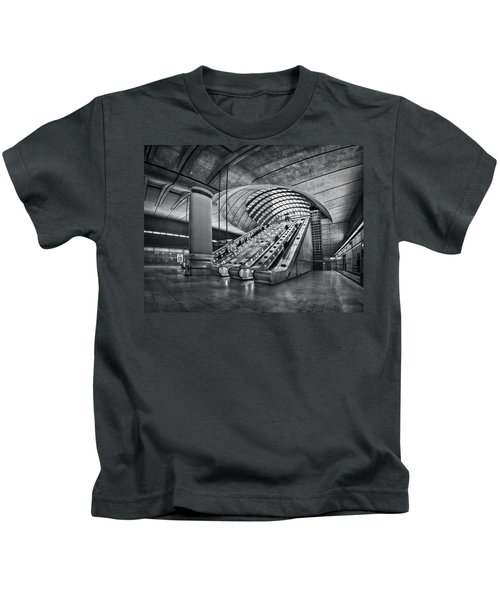 Beneath The Surface Of Reality Kids T-Shirt by Evelina Kremsdorf