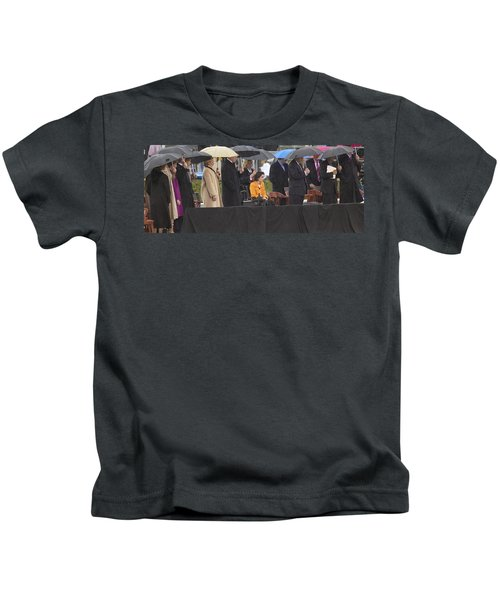 Former Us President Bill Clinton Kids T-Shirt by Panoramic Images