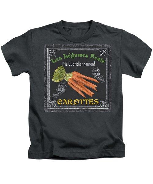 French Vegetables 4 Kids T-Shirt by Debbie DeWitt