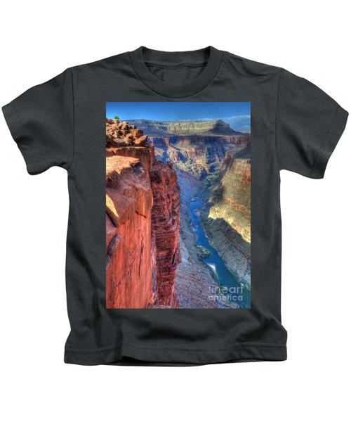 Grand Canyon Awe Inspiring Kids T-Shirt by Bob Christopher