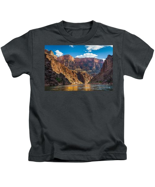 Journey Through The Grand Canyon Kids T-Shirt by Inge Johnsson