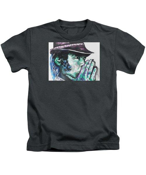 Neil Young Kids T-Shirt by Chrisann Ellis