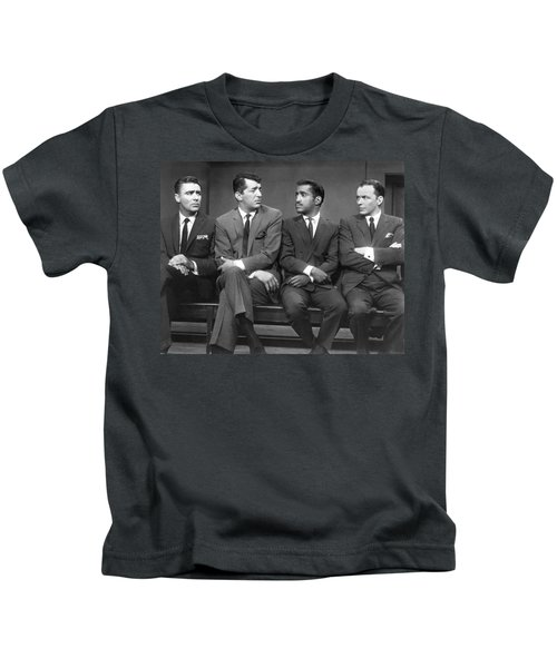 Ocean's Eleven Rat Pack Kids T-Shirt by Underwood Archives