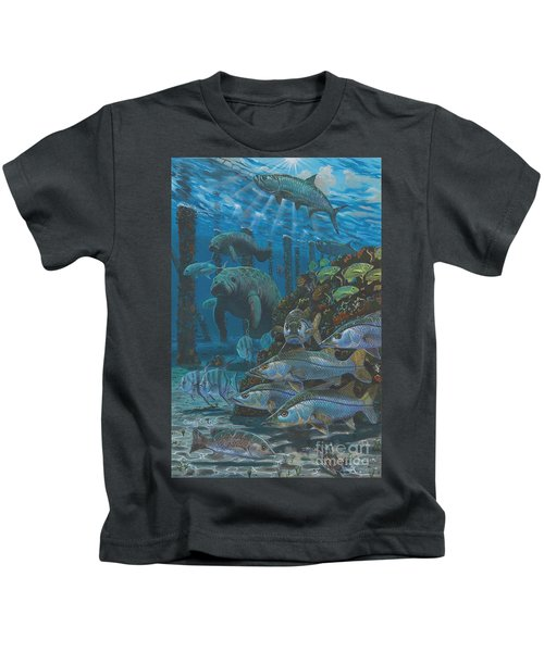 Sanctuary In0021 Kids T-Shirt by Carey Chen